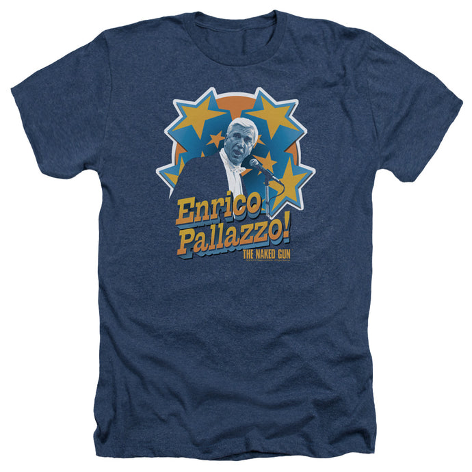 Naked Gun - Its Enrico Pallazzo Adult Heather - Special Holiday Gift