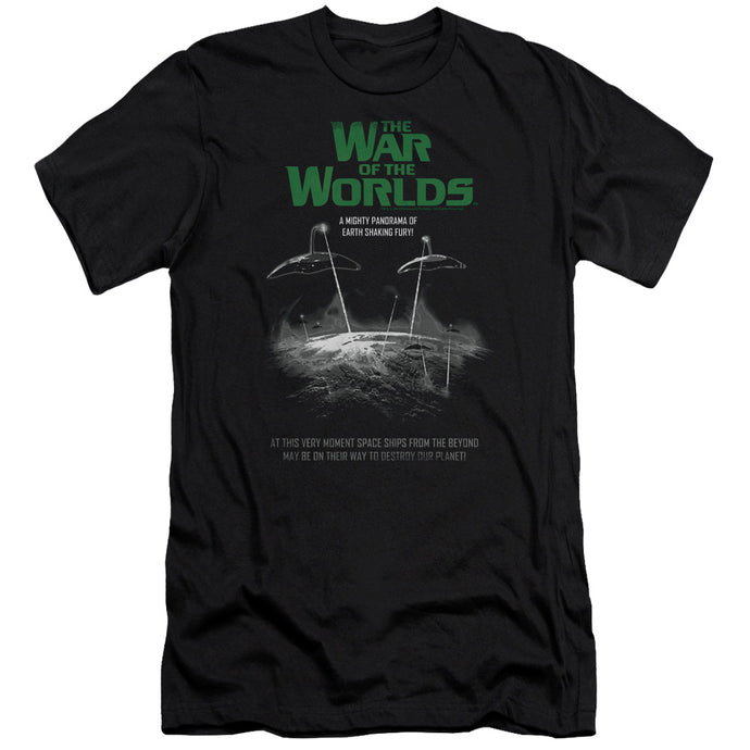 War Of The Worlds - Attack Poster Short Sleeve Adult 30/1 Tee - Special Holiday Gift
