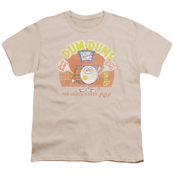 Dum Dums - Best Pop Short Sleeve Youth 18/1 Tee - Special Holiday Gift