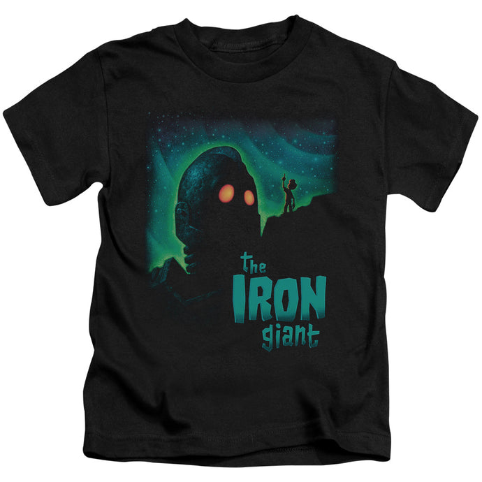 Iron Giant - Look To The Stars Short Sleeve Juvenile 18/1 Tee - Special Holiday Gift