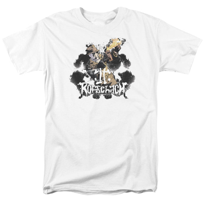 Watchmen - Rorschach Short Sleeve Adult 18/1 Tee - Special Holiday Gift