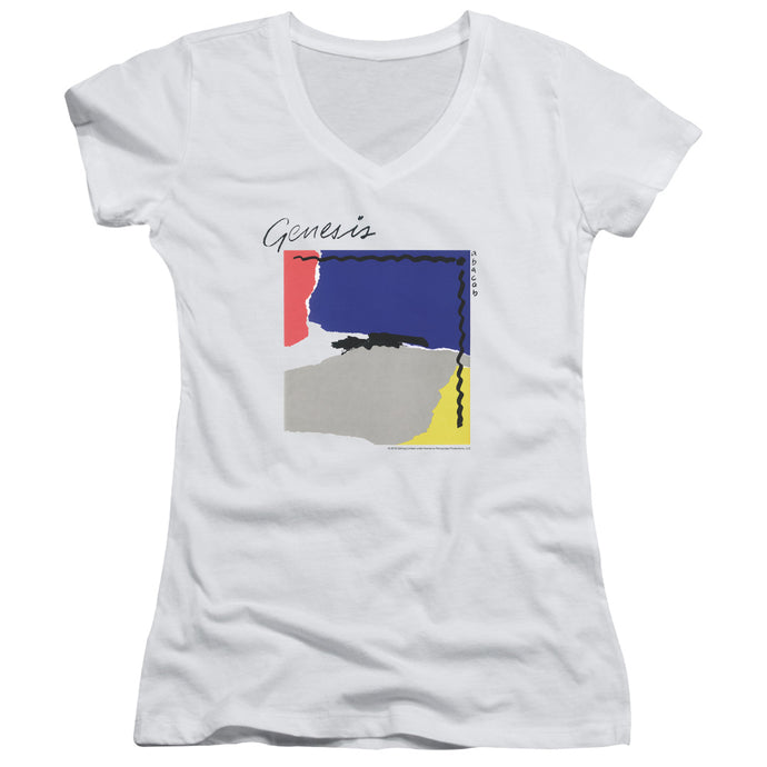 Genesis - Abacab Junior V Neck Tee - Special Holiday Gift