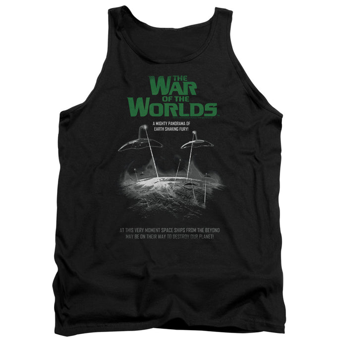 War Of The Worlds - Attack Poster Adult Tank - Special Holiday Gift