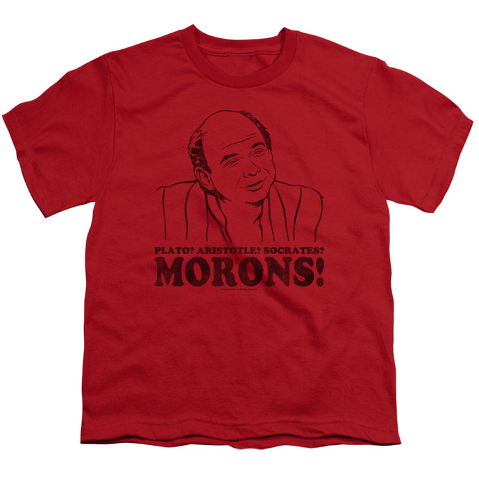 Princess Bride - Morons Short Sleeve Youth 18/1 Tee - Special Holiday Gift