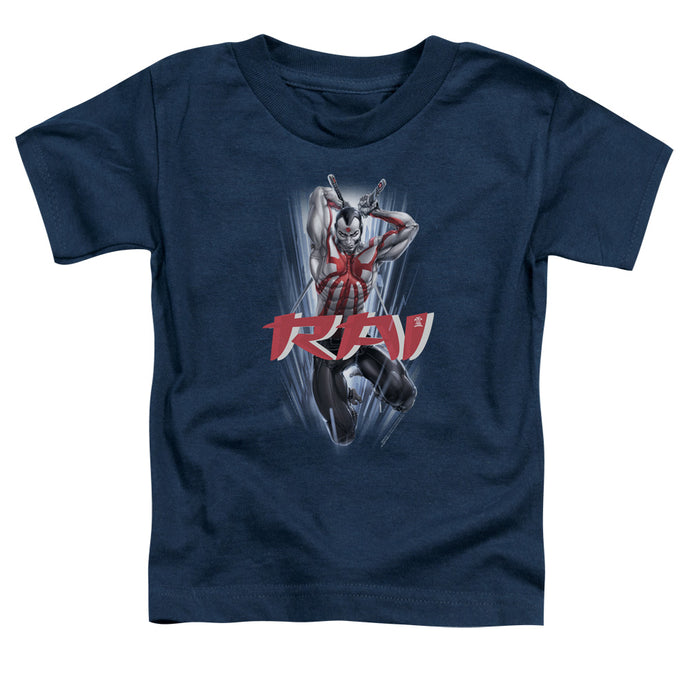 Rai - Leap And Slice Short Sleeve Toddler Tee - Special Holiday Gift