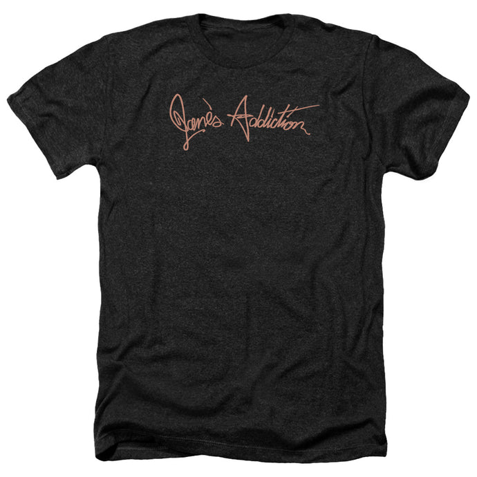 Janes Addiction - Script Logo Adult Heather - Special Holiday Gift