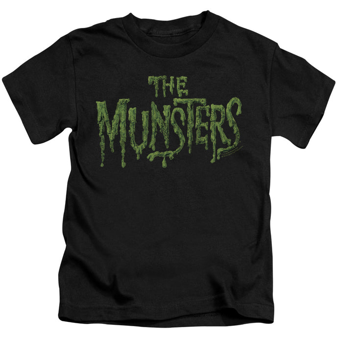 The Munsters - Distress Logo Short Sleeve Juvenile 18/1 Tee - Special Holiday Gift