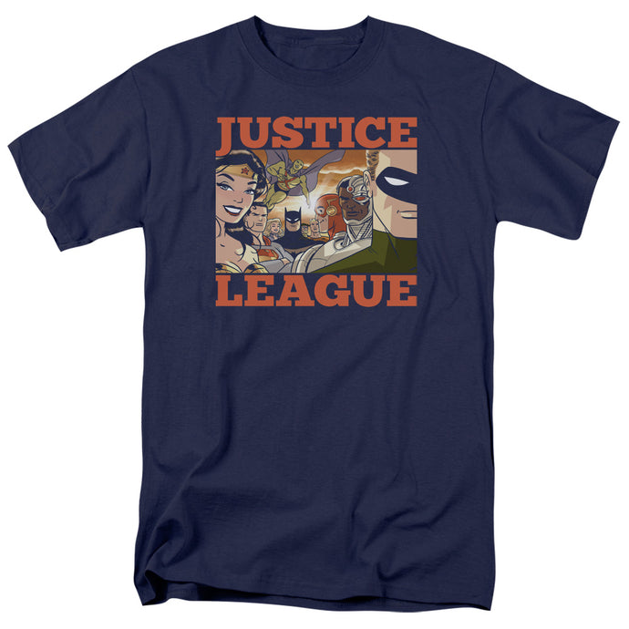 Jla - New Dawn Group Short Sleeve Adult 18/1 Tee - Special Holiday Gift
