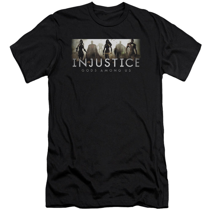 Injustice Gods Among Us - Logo Short Sleeve Adult 30/1 Tee - Special Holiday Gift