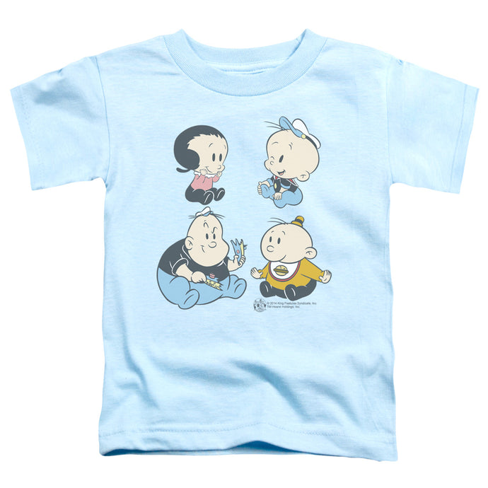 Popeye - Four Friends Short Sleeve Toddler Tee - Special Holiday Gift