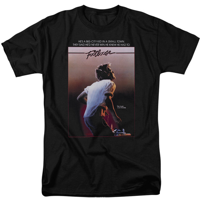 Footloose - Poster Short Sleeve Adult 18/1 Tee - Special Holiday Gift