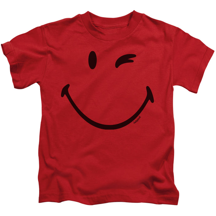 Smiley World - Big Wink Short Sleeve Juvenile 18/1 Tee - Special Holiday Gift