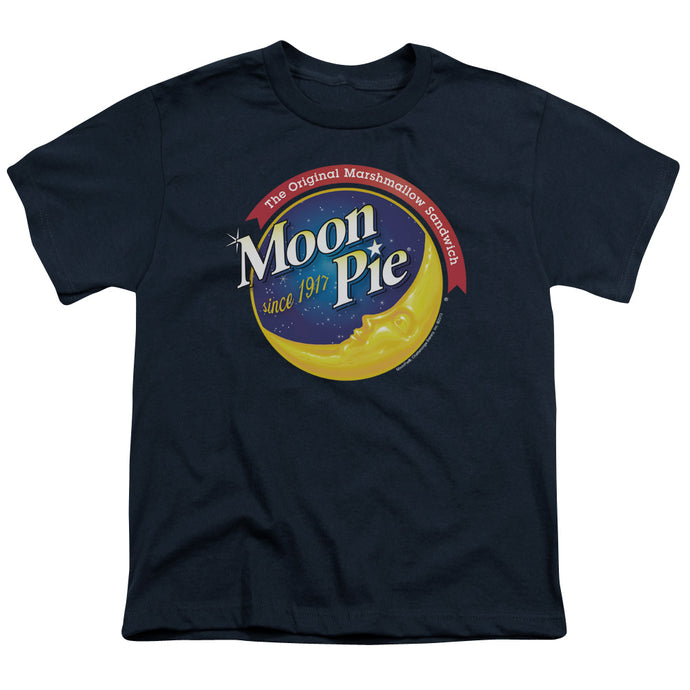 Moon Pie - Current Logo Short Sleeve Youth 18/1 Tee - Special Holiday Gift