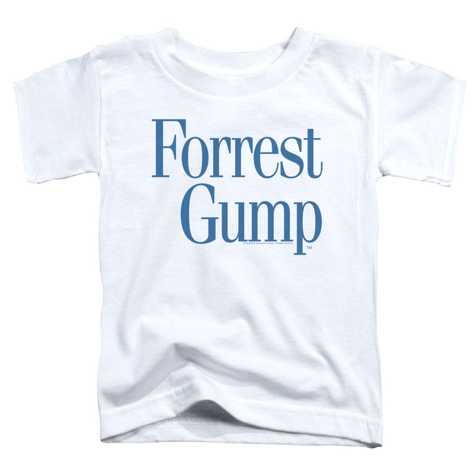 Forrest Gump - Logo Short Sleeve Toddler Tee - Special Holiday Gift
