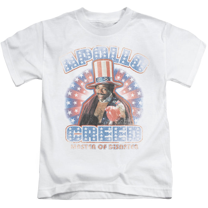 Rocky - Apollo Creed Short Sleeve Juvenile 18/1 Tee - Special Holiday Gift