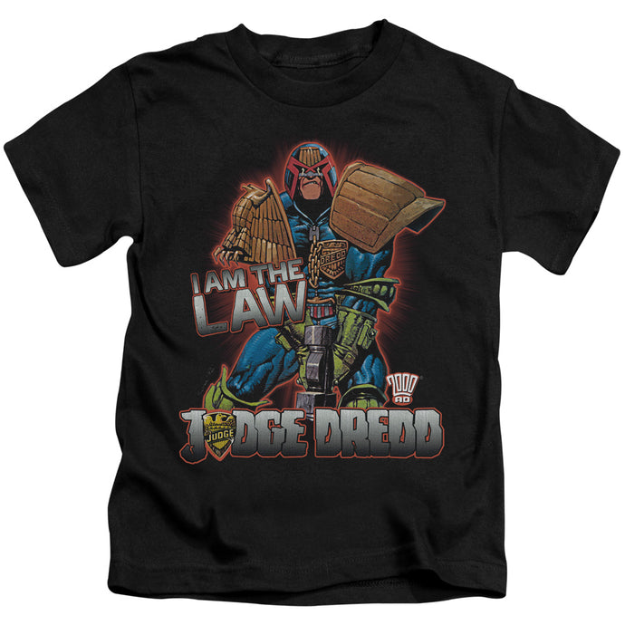 Judge Dredd - Law Short Sleeve Juvenile 18/1 Tee - Special Holiday Gift