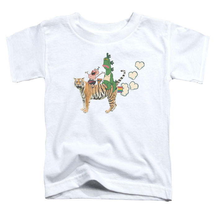 Uncle Grandpa - Fart Hearts Short Sleeve Toddler Tee - Special Holiday Gift