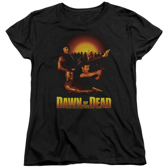 Dawn Of The Dead - Dawn Collage Short Sleeve Women's Tee - Special Holiday Gift
