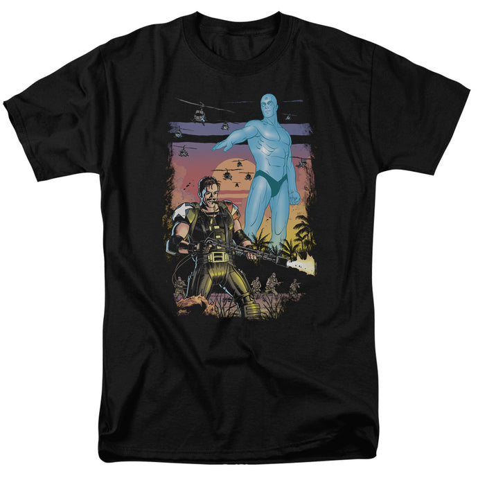 Watchmen - Winning The War Short Sleeve Adult 18/1 Tee - Special Holiday Gift