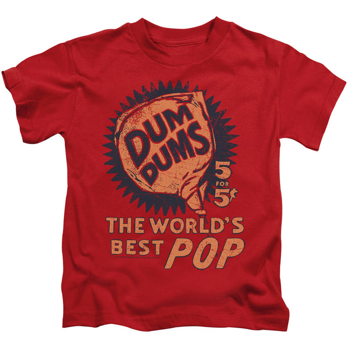 Dum Dums - 5 For 5 Short Sleeve Juvenile 18/1 Tee - Special Holiday Gift