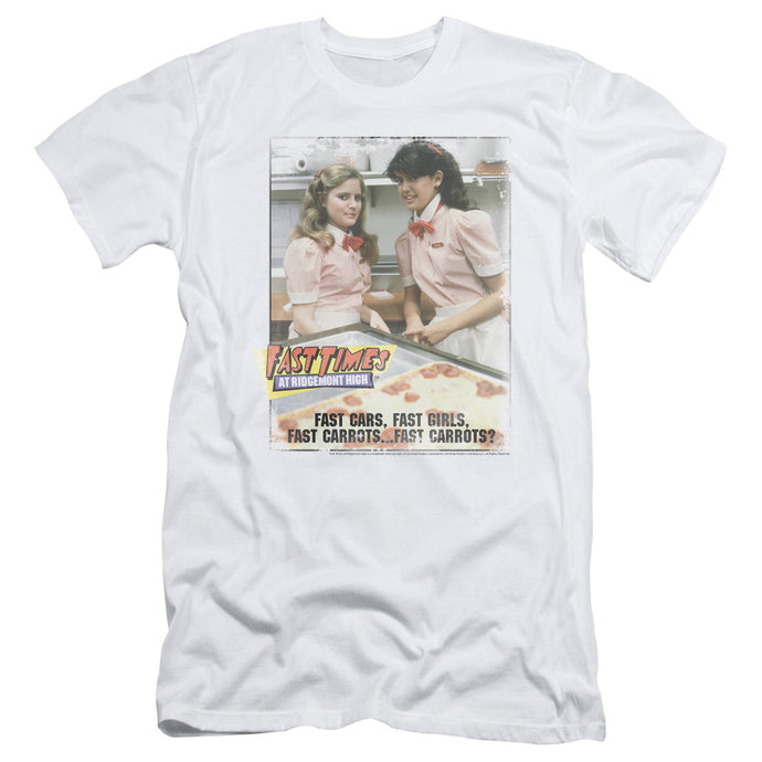 Fast Times Ridgemont High - Fast Carrots Short Sleeve Adult 30/1 Tee - Special Holiday Gift