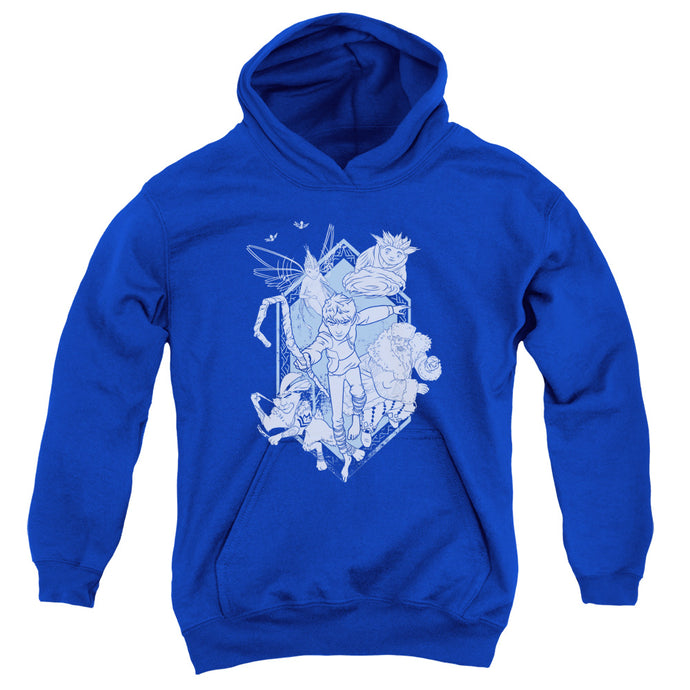 Rise Of The Guardians - Coming For You Youth Pull Over Hoodie - Special Holiday Gift