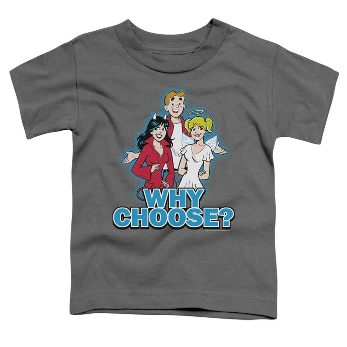 Archie Comics - Why Choose Short Sleeve Toddler Tee - Special Holiday Gift