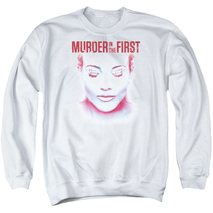 Murder In The First - Don't Talk Adult Crewneck Sweatshirt - Special Holiday Gift