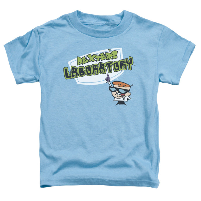 Dexter's Laboratory - Logo Short Sleeve Toddler Tee - Special Holiday Gift