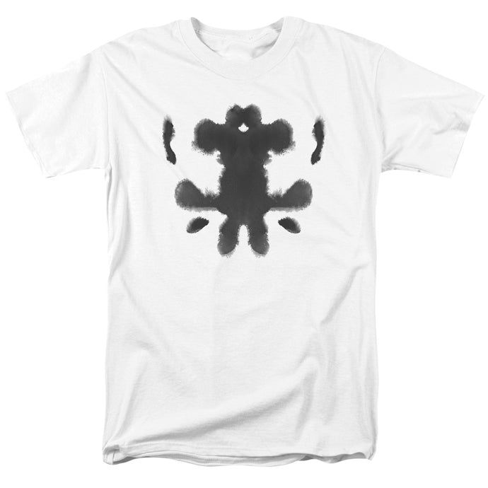 Watchmen - Rorschach Face Short Sleeve Adult 18/1 Tee - Special Holiday Gift