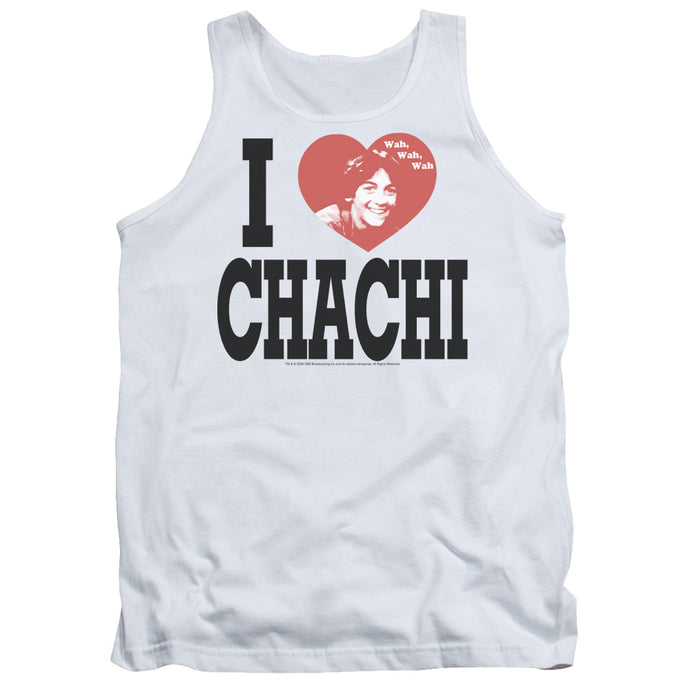 Happy Days - I Heart Chachi Adult Tank - Special Holiday Gift