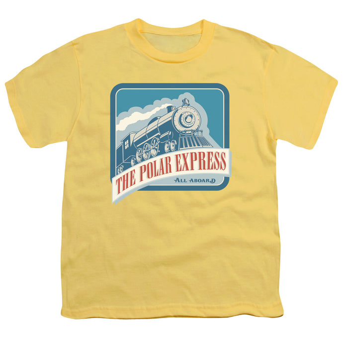 Polar Express - All Aboard Short Sleeve Youth 18/1 Tee - Special Holiday Gift