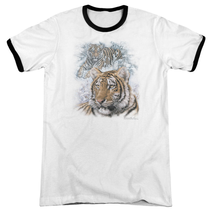 Wildlife - Tigers Adult Ringer - Special Holiday Gift