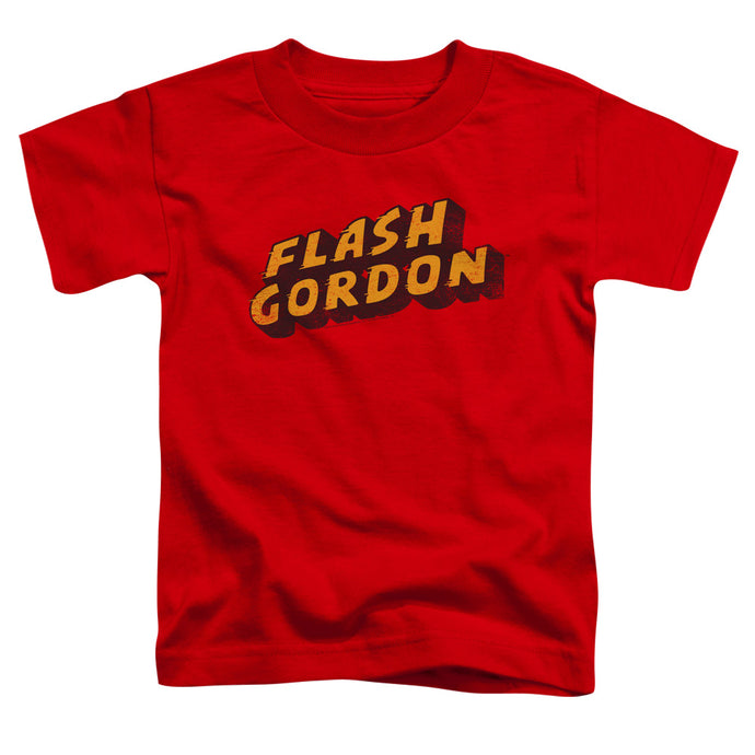 Flash Gordon - Logo Short Sleeve Toddler Tee - Special Holiday Gift