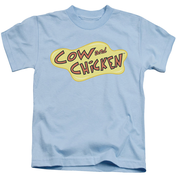 Cow And Chicken - Cow Chicken Logo Short Sleeve Juvenile 18/1 Tee - Special Holiday Gift