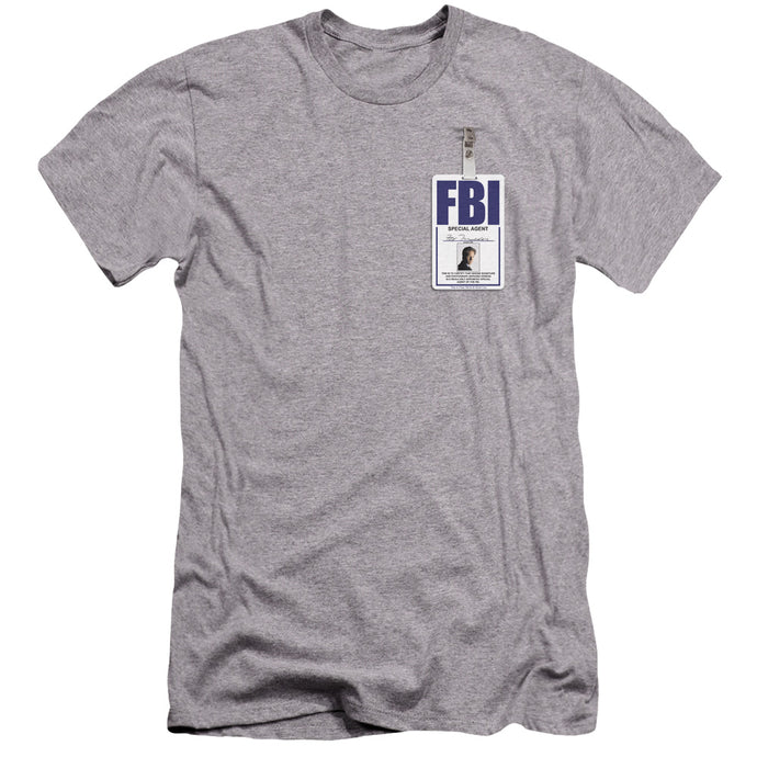 X Files - Mulder Badge Premium Canvas Adult Slim Fit 30/1 - Special Holiday Gift
