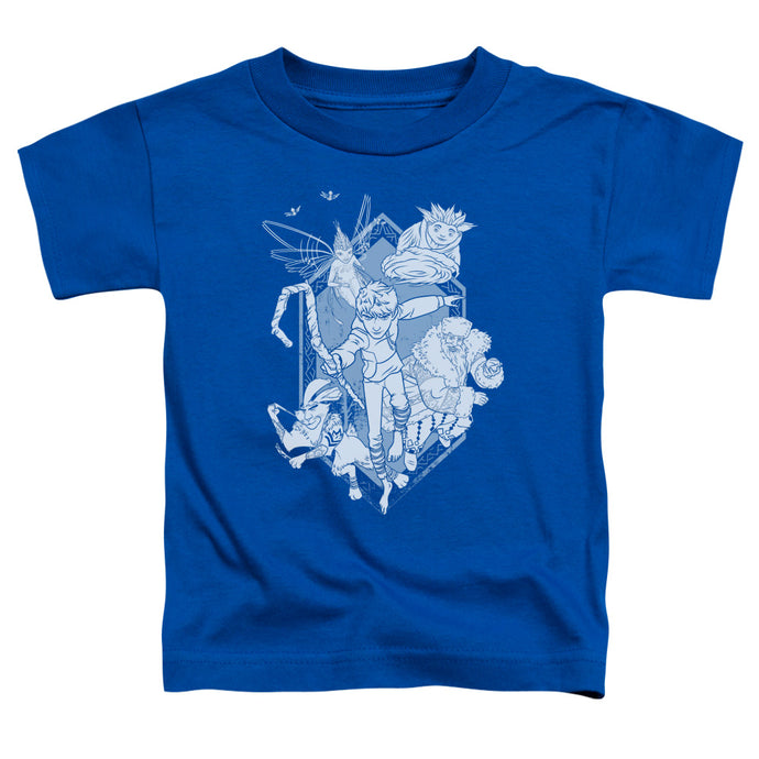 Rise Of The Guardians - Coming For You Short Sleeve Toddler Tee - Special Holiday Gift
