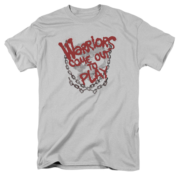 Warriors - Come Out And Play Short Sleeve Adult 18/1 Tee - Special Holiday Gift