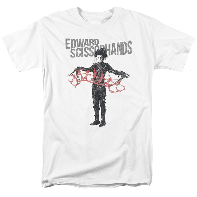 Edward Scissorhands - Show & Tell Short Sleeve Adult 18/1 Tee - Special Holiday Gift
