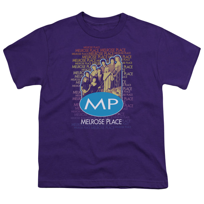 Melrose Place - Melrose Place Short Sleeve Youth 18/1 Tee - Special Holiday Gift
