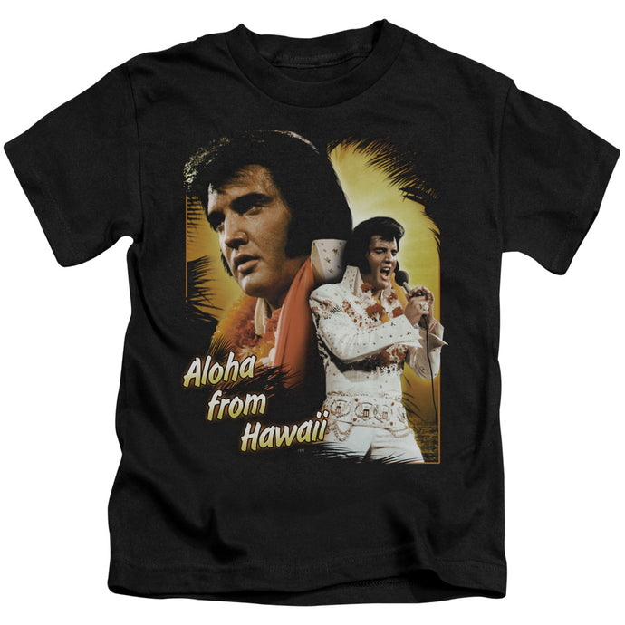 Elvis - Aloha Short Sleeve Juvenile 18/1 Tee - Special Holiday Gift
