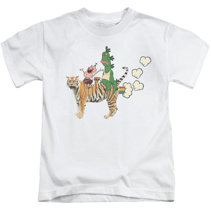 Uncle Grandpa - Fart Hearts Short Sleeve Juvenile 18/1 Tee - Special Holiday Gift