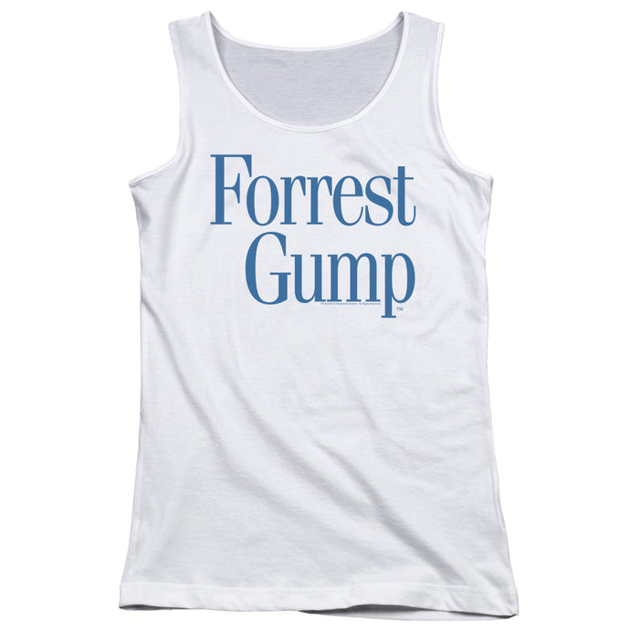 Forrest Gump - Logo Juniors Tank Top - Special Holiday Gift