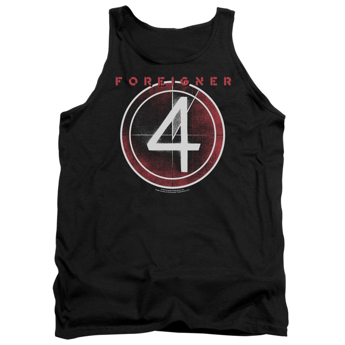 Foreigner - 4 Album Adult Tank - Special Holiday Gift