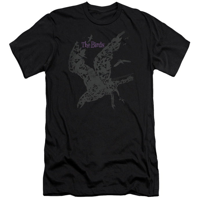 Birds - Poster Short Sleeve Adult 30/1 Tee - Special Holiday Gift