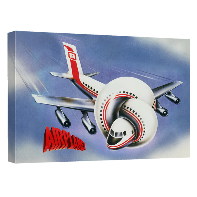 Airplane - Poster Canvas Wall Art With Back Board - Special Holiday Gift