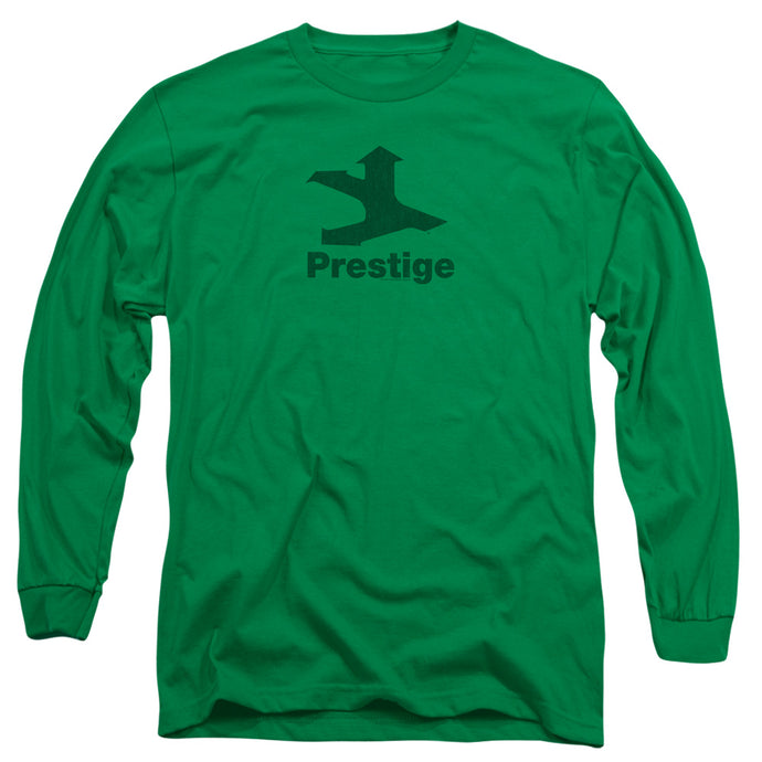 Prestige - Prestige Logo Long Sleeve Adult 18/1 Tee - Special Holiday Gift