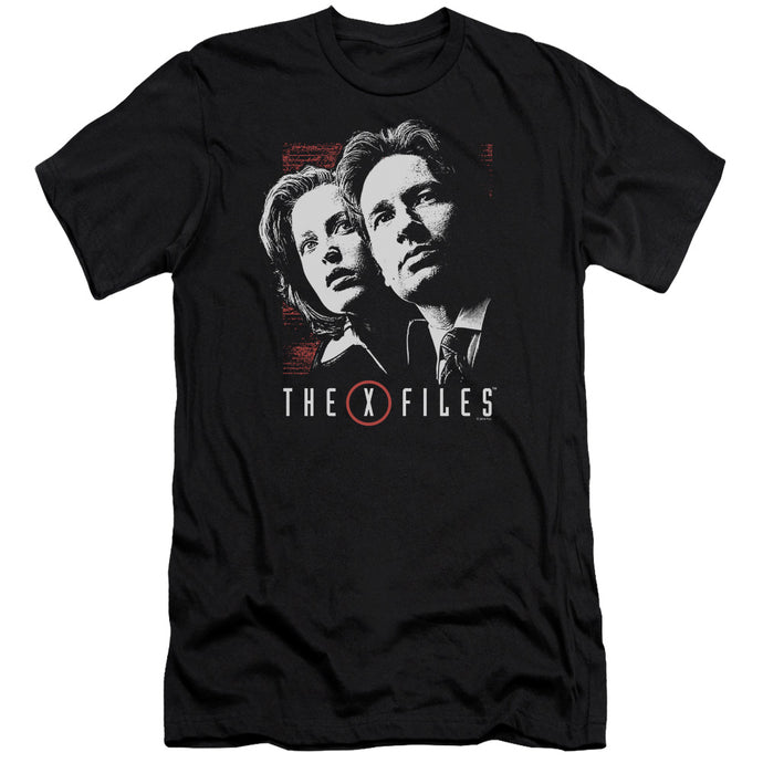 X Files - Mulder & Scully Premium Canvas Adult Slim Fit 30/1 - Special Holiday Gift