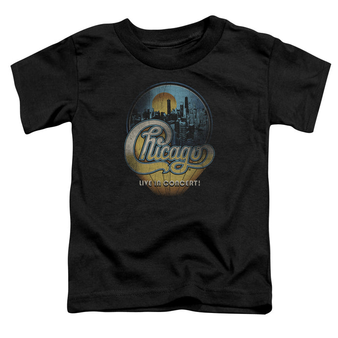 Chicago - Live Short Sleeve Toddler Tee - Special Holiday Gift
