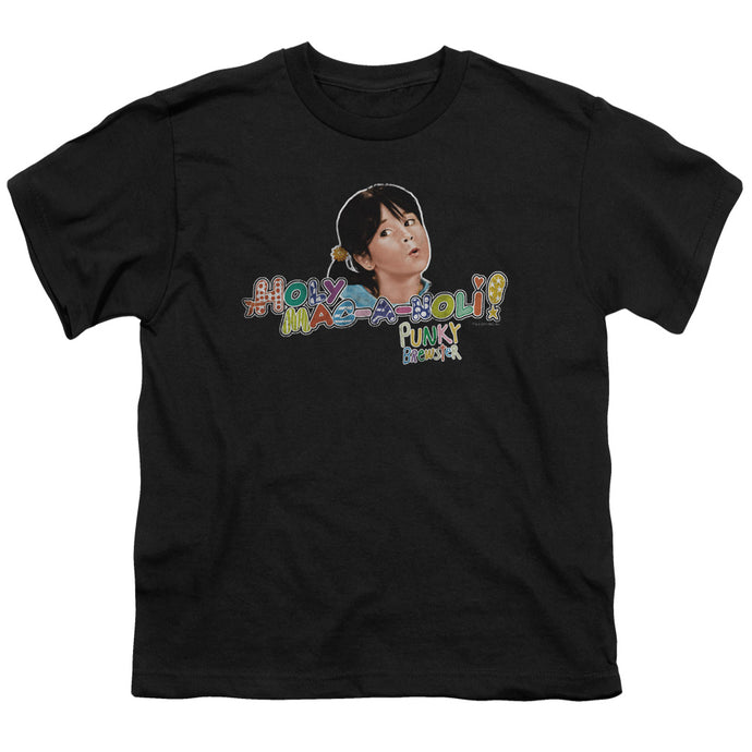 Punky Brewster - Holy Mac A Noli Short Sleeve Youth 18/1 Tee - Special Holiday Gift